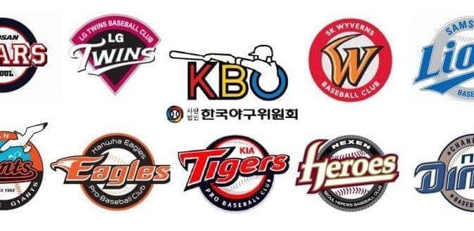 KBO韓國職棒-球隊標誌logo